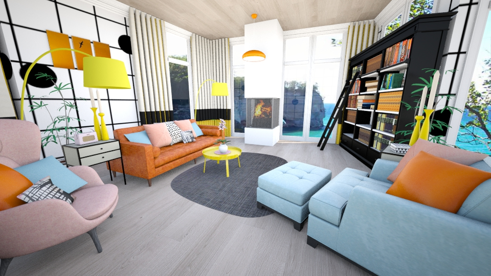 on the grid design - Living room - by JRem224