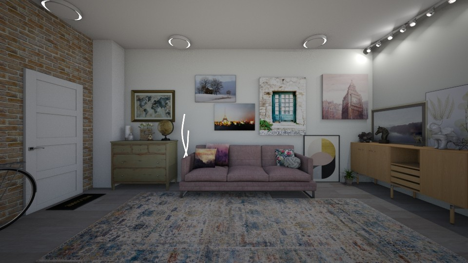 T009O - Living room  - by tete_architect