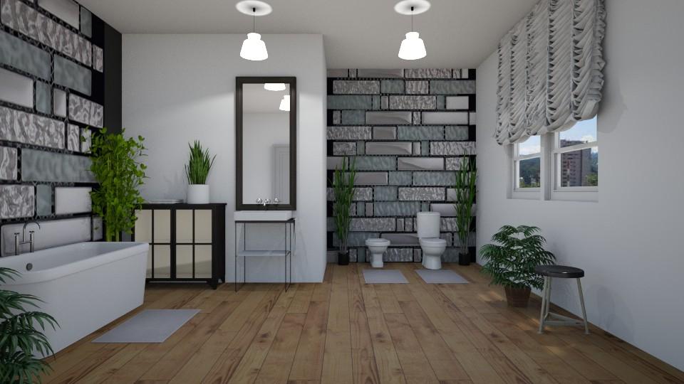 Room 23 - Bathroom - by Tiffany Y