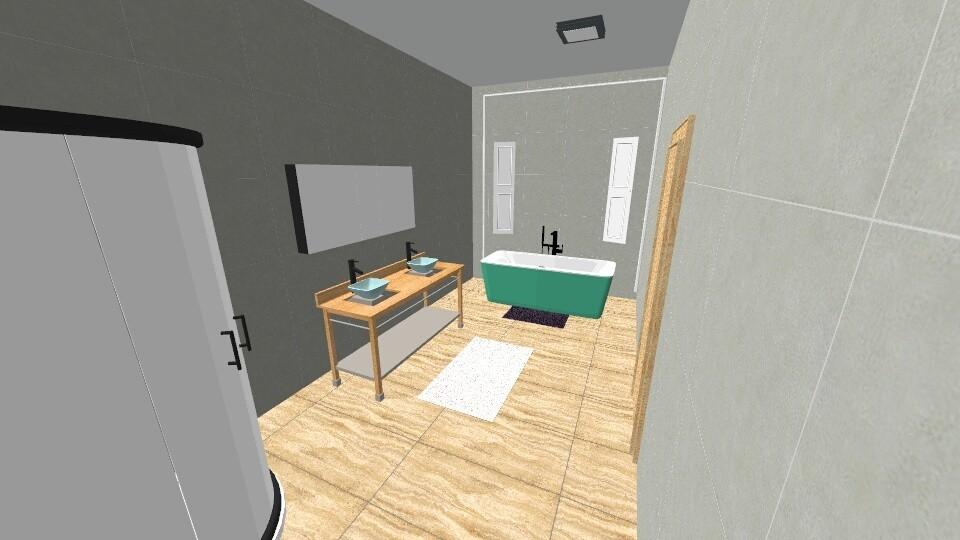 science - Bathroom - by naomidafish