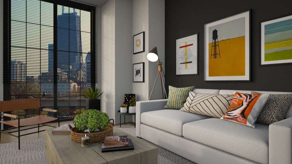 soft - Living room  - by MiaM