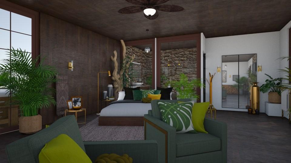 Ada Bart - Rustic - Bedroom  - by AdaBart