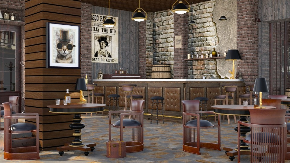 Western Saloon - by ArtHousedeco