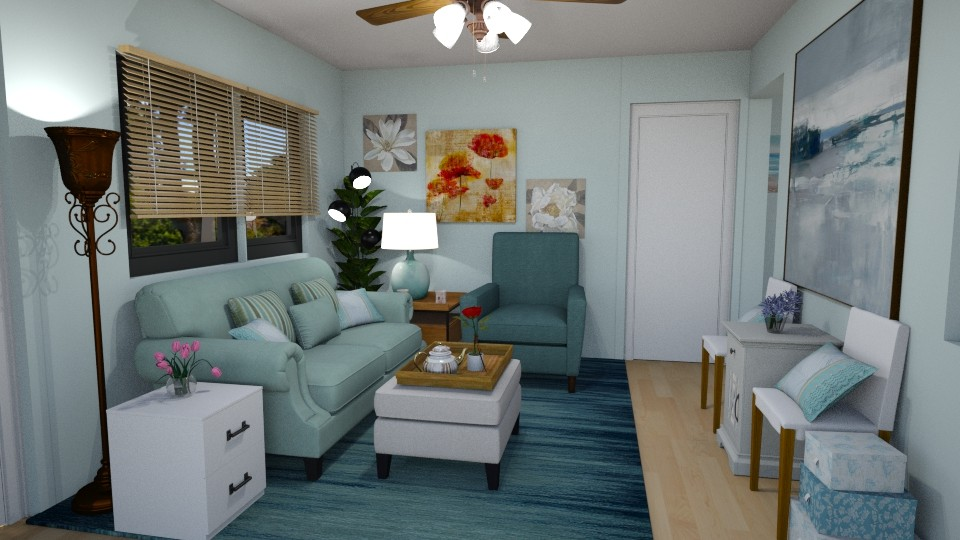Our New House LR X - Eclectic - Living room - by SherryDW