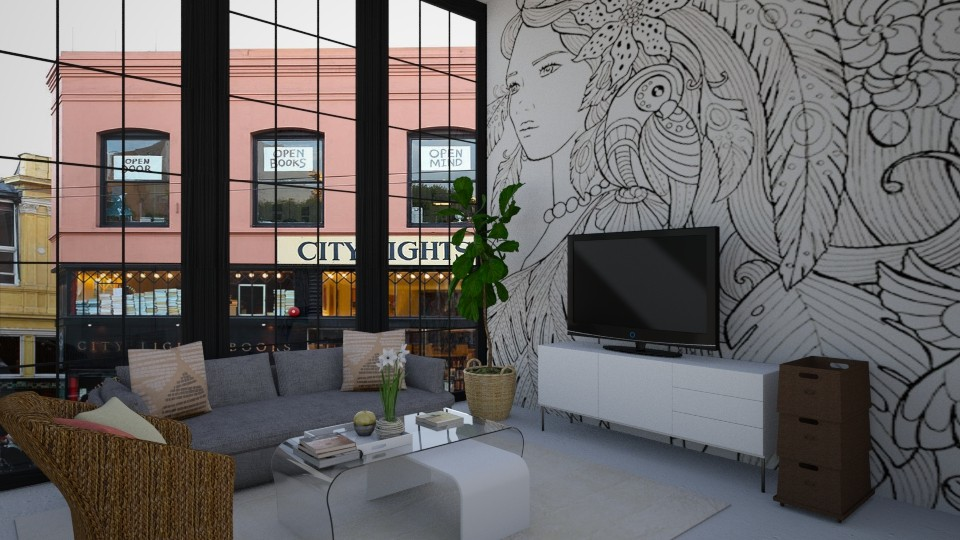 Diandra - Modern - Living room - by Tara T