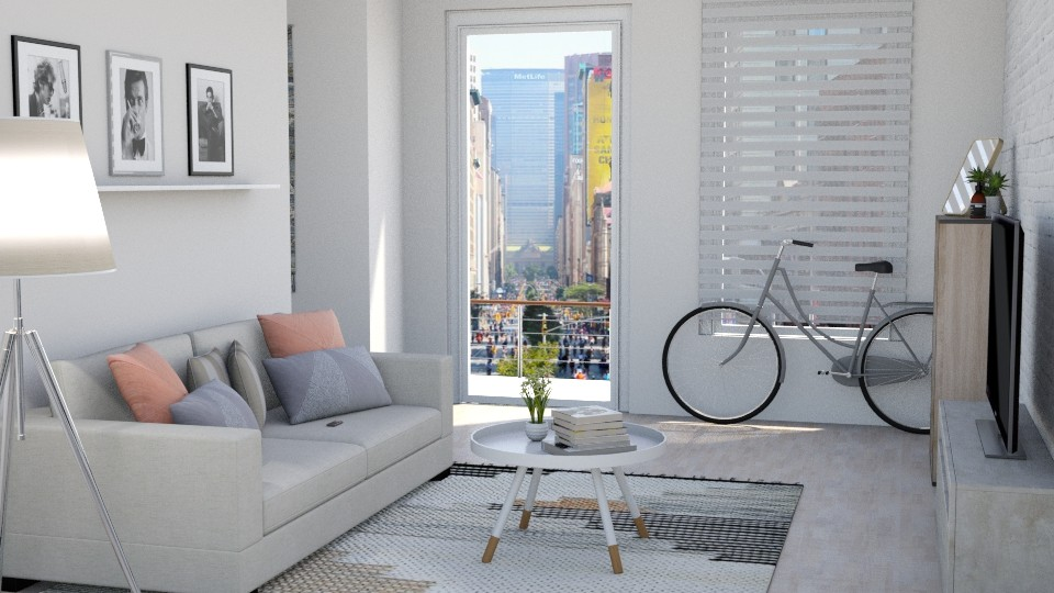 Small apartment - Living room  - by ab1300