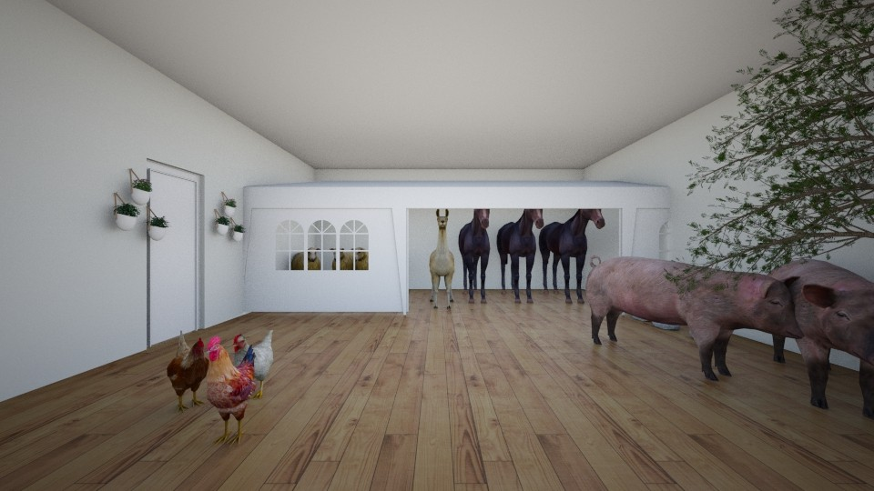 the barn yard houes - by jmeyer2x4