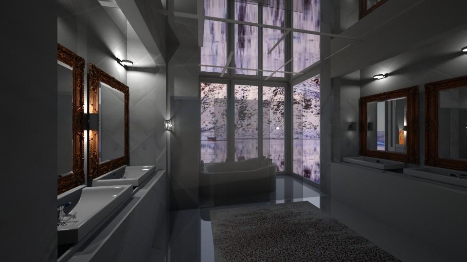 get away2 - Bathroom - by Emiley B