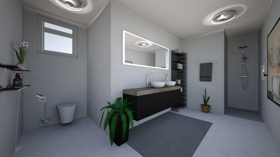 Room toilet - Modern - Bathroom  - by Mufix