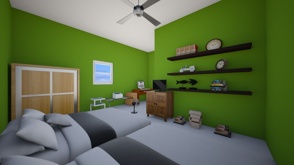 my true house - Bedroom - by ravalonna
