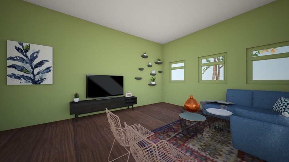 lol123 - Living room - by lindseyromee