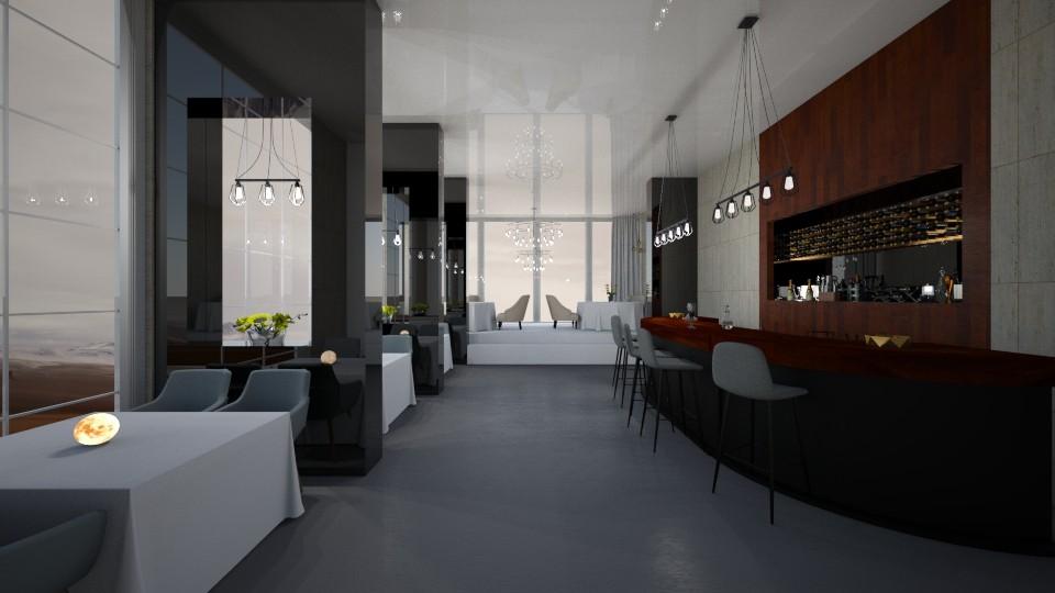 LuanDA - Dining room  - by Amorum X