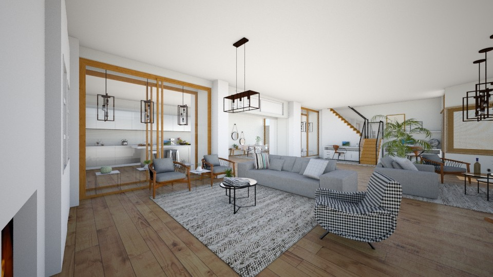 andere hoek zithoek huis3 - Living room  - by karlijnpoos