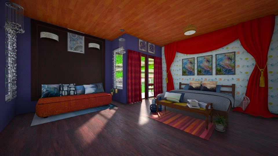 bedroom1 - by The Bug