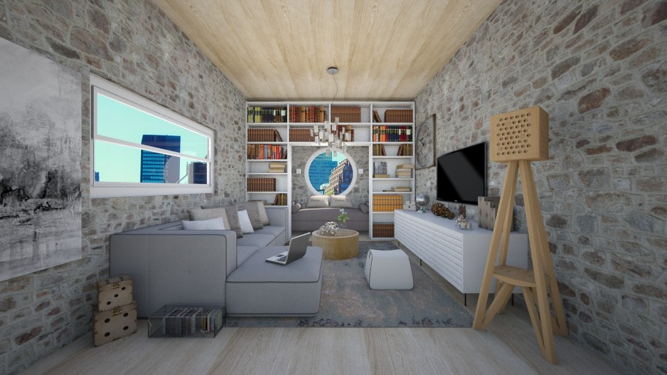 relax - Living room - by Vasiliki Stagkidou