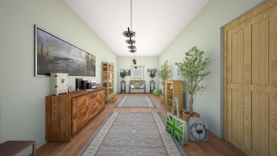 Little flat hall - by luna_grase00