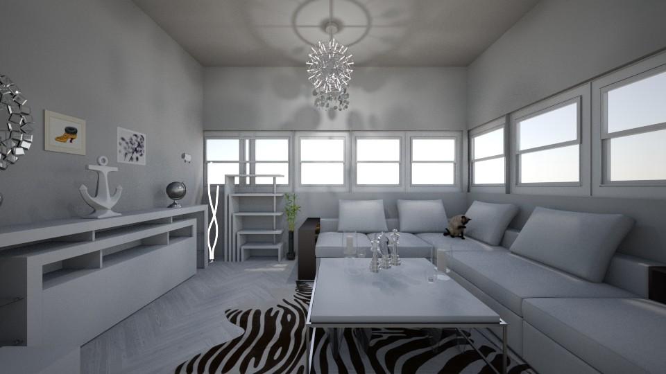 modern white - by RollPinkEra