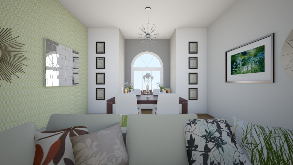 normal green wood living  - Classic - Living room - by LuanaSoaresDesigns