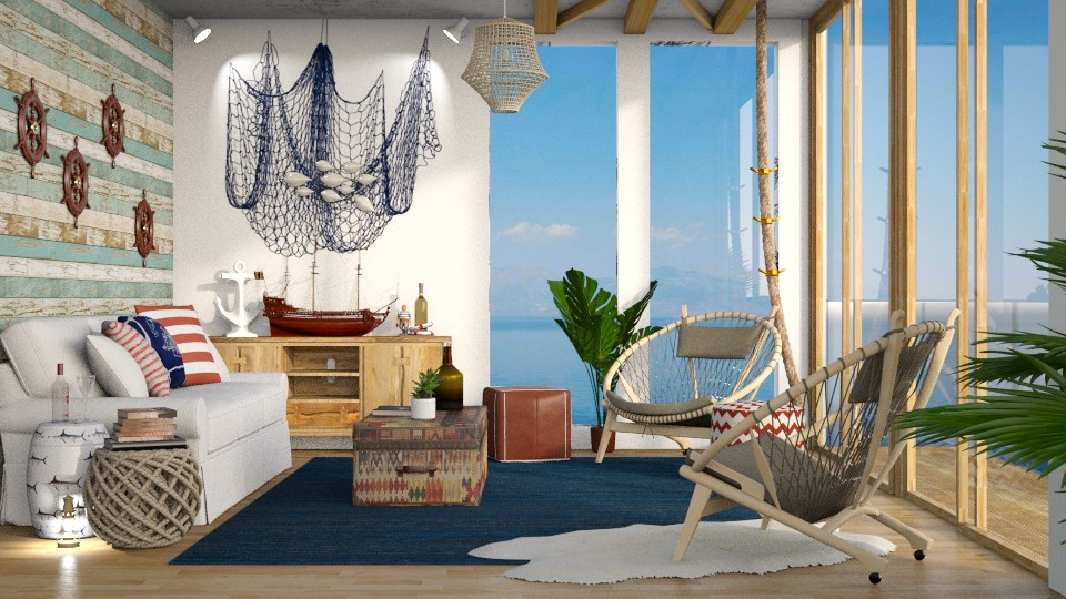 Nautical - Living room - by DeborahArmelin
