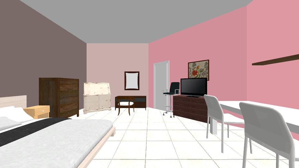room carla 2 - Bedroom - by Carla Salvador
