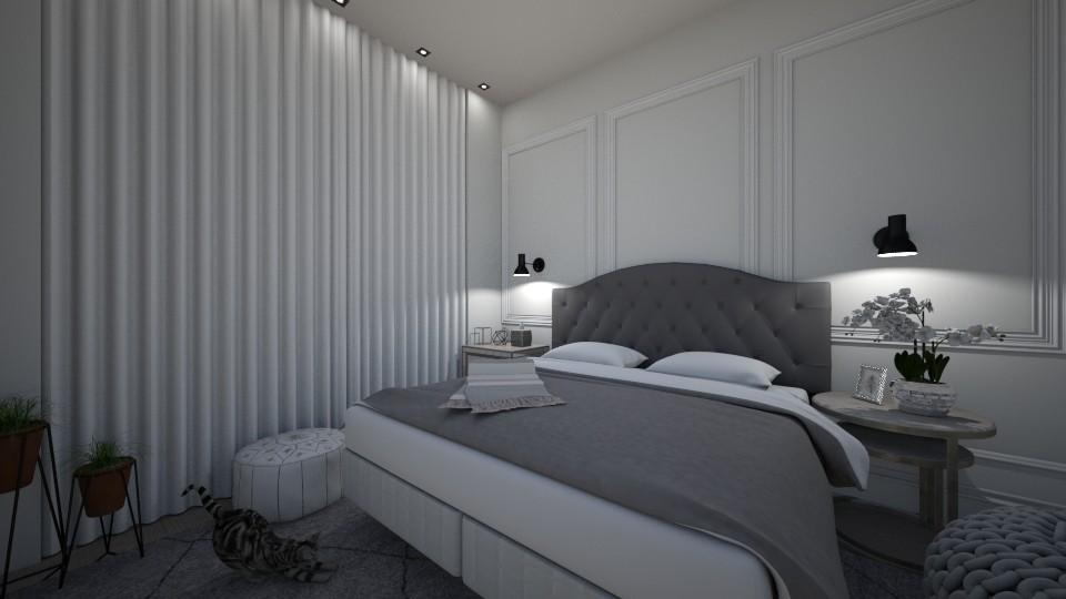 clean - Bedroom - by Jemima Carvalho