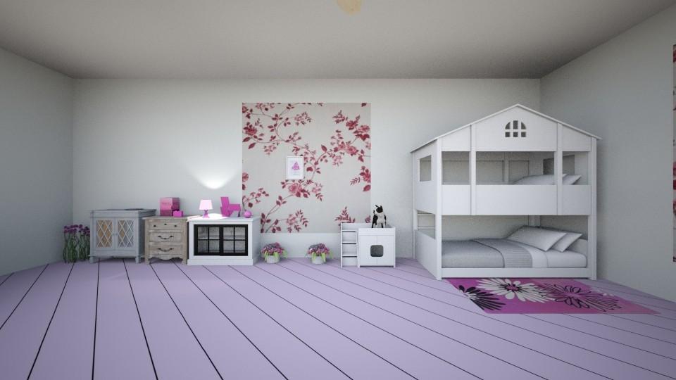 camera bimbi - Kids room - by pasticcere