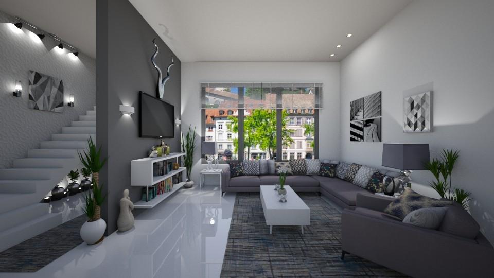 Modern Living Room  - Modern - Living room - by  krc60