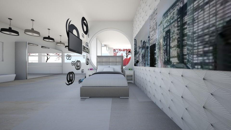 camera bea - Bedroom - by Beatrice Ferraro