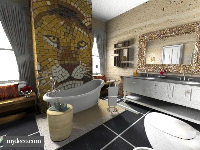my ideal bathroom - Modern - Bathroom - by sally89