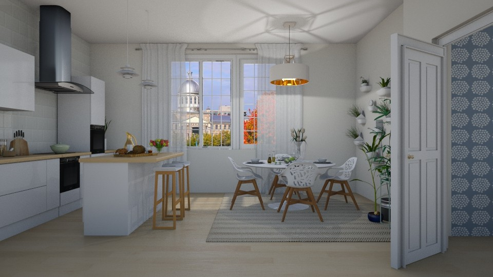 Scandinavian Look - Modern - Kitchen - by janip