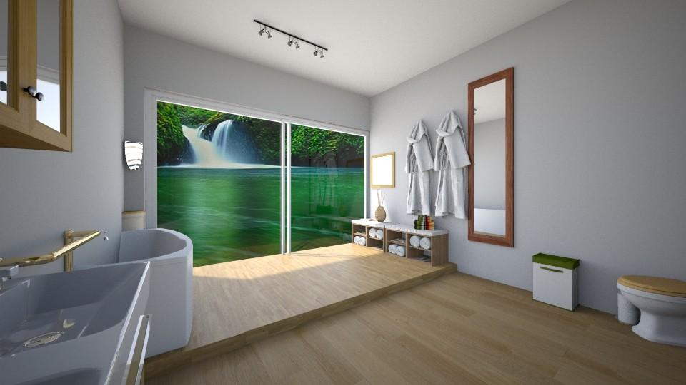 assignment 1 fresh feel - Bathroom - by Stephanie Felix