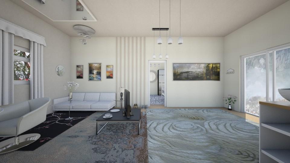 modern 1st design - Living room - by Kioko Arwyn