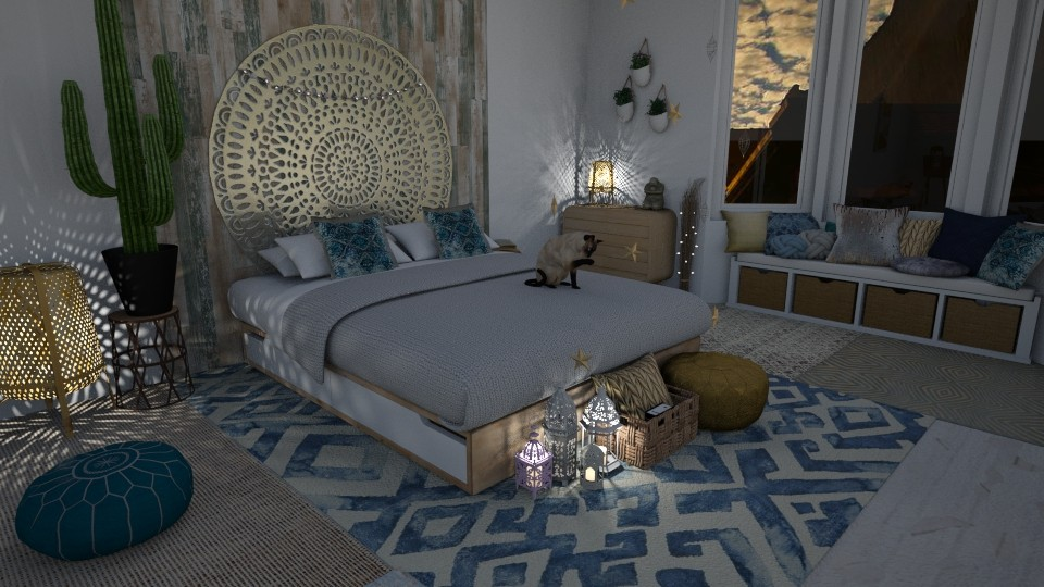 Arabic influences - Kids room - by StudioGerot