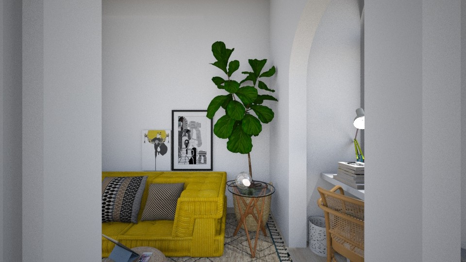 Casa175LivingArea - Eclectic - Living room - by nickynunes