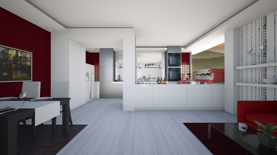 Dining_Kitchen - Modern - Kitchen - by Gre_Taa