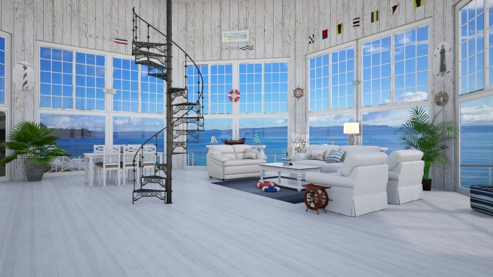 Ye Olde Lighthouse - by Interiors by Laura