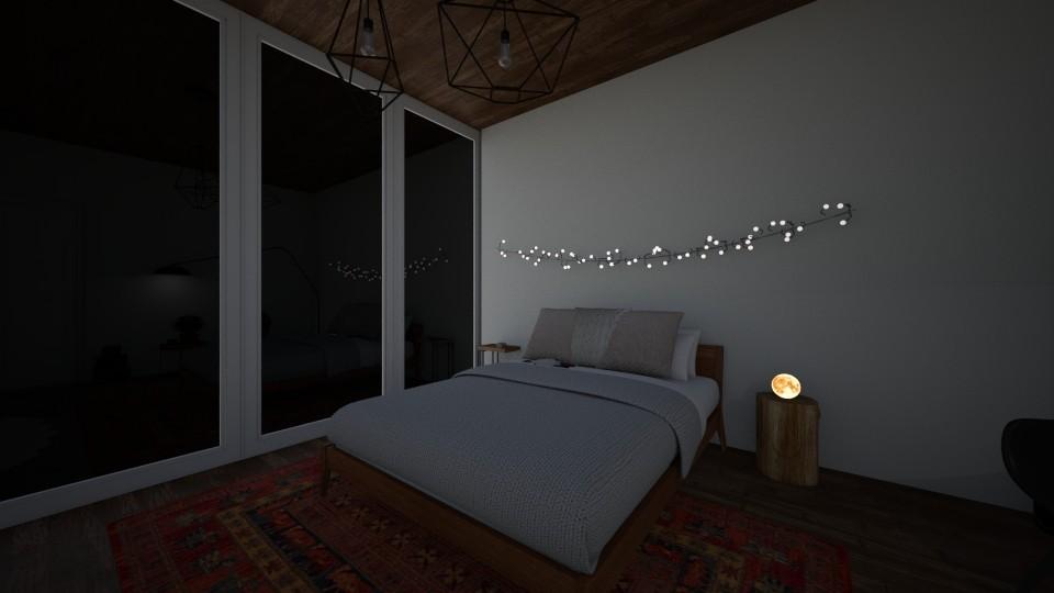 45 bedroom - Feminine - Bedroom - by nazlazzhra