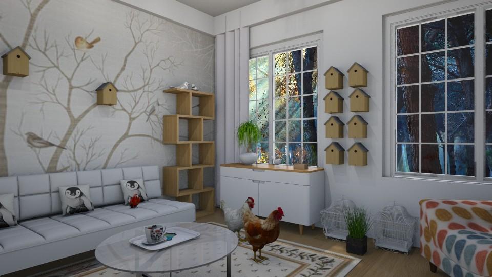 Birdy - Living room - by Tara T