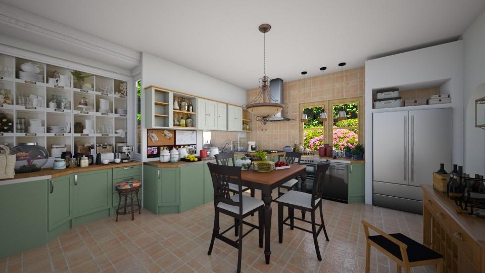 big - Kitchen - by aleya