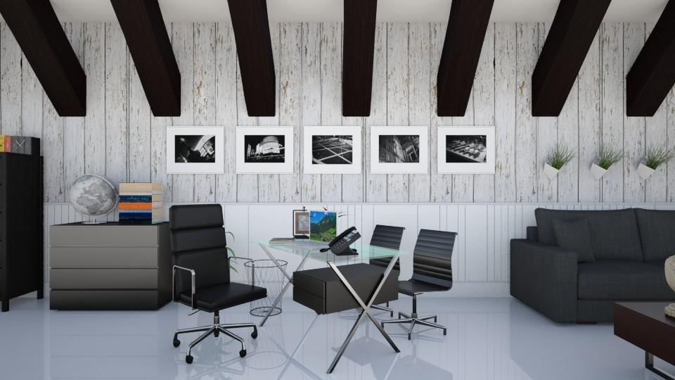 Black - Modern - Office  - by Jenni Leguiza