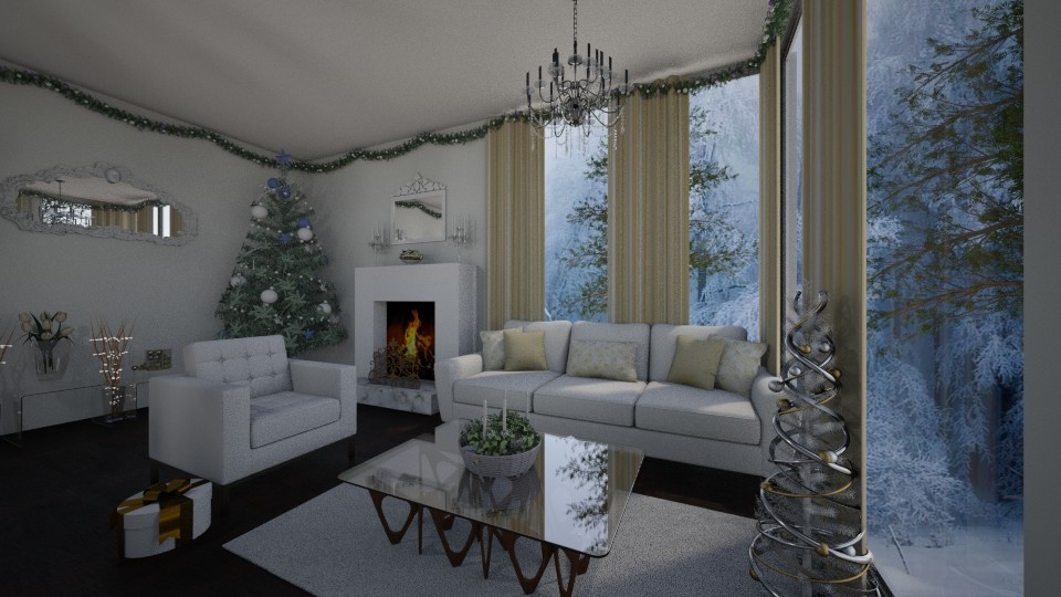 An invitation - Glamour - Living room - by Nikki18