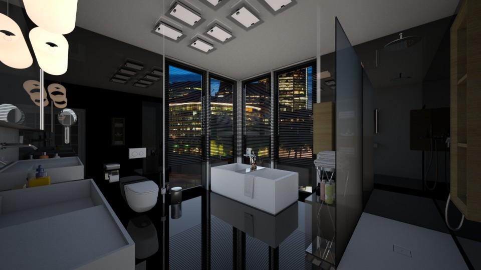 Bathroom 18 - by Tina Welickowic