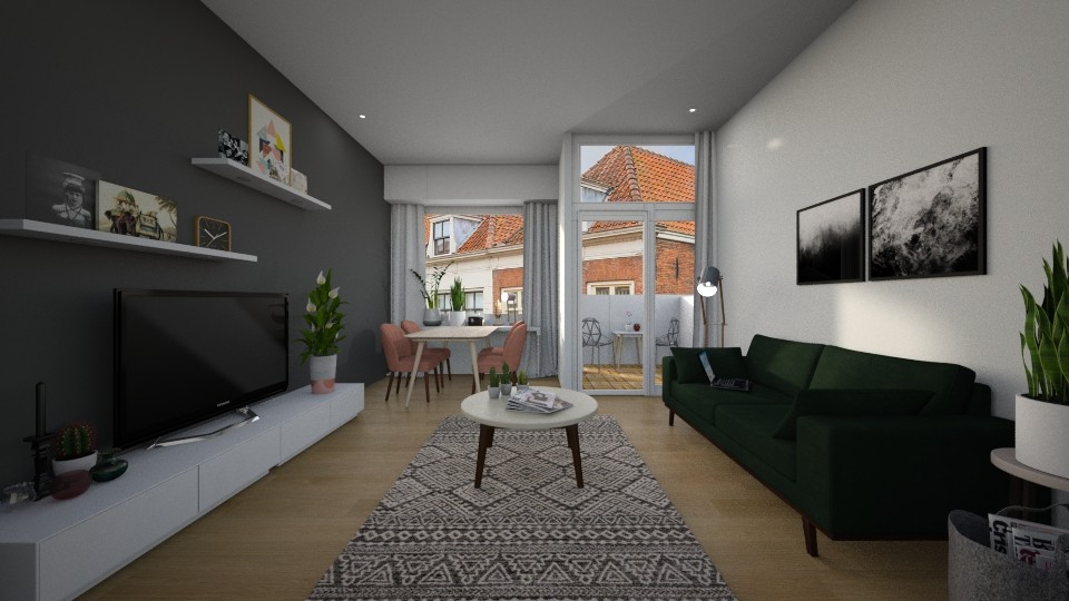 Grote markt - Living room - by Curuxa