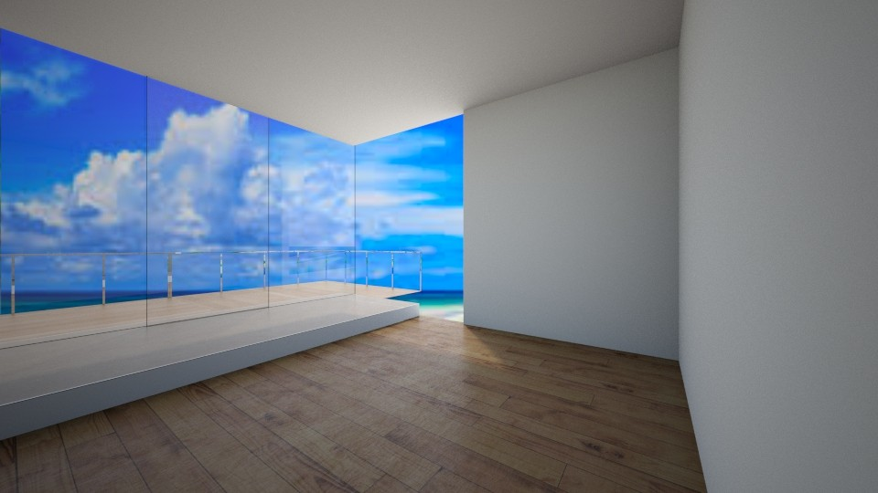 beach house - Living room  - by Bade0