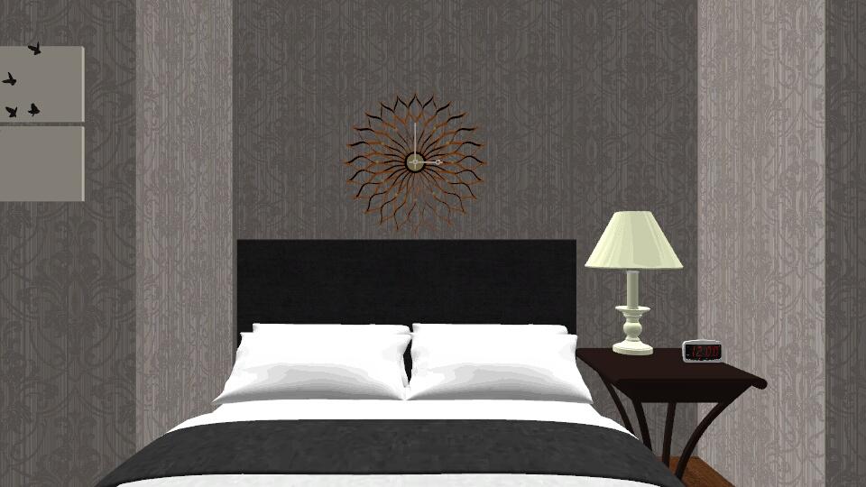 School Design Project - Bedroom - by tflat
