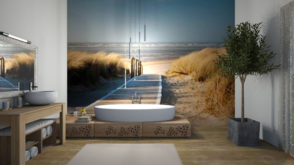 Brut - Bathroom  - by Val Val