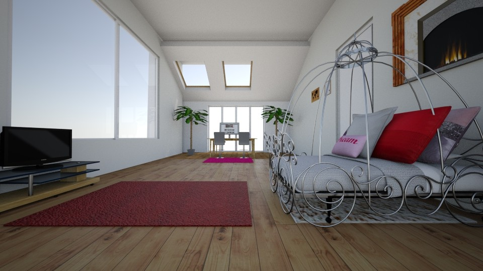 my attic room - Classic - Bedroom - by AnaP2004