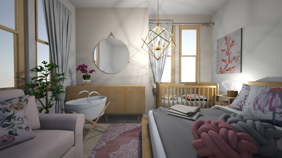 3 18 20 - Kids room - by Sandra Janeth