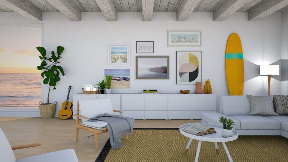 malibu - Living room  - by diegobbf