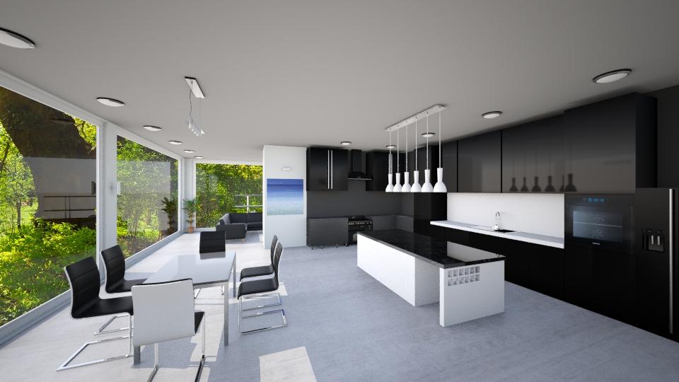 Luminence - Modern - Kitchen - by Mythrintia